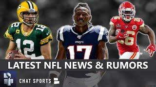 NFL News & Rumors: Aaron Rodgers's Future, Antonio Brown To Ravens Or Seahawks? Tua Starting?