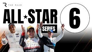 The Race All-Star Series, Rd 6 - ft. Juan Pablo Montoya and fellow F1, Indy, NASCAR Legends, TBC