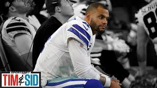 Nate Burleson: Dak Prescott Shouldn't Give Cowboys A Hometown Discount | Tim and Sid