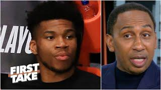 The Bucks 'are in trouble of losing the Greek Freak' - Stephen A. on Giannis' future | First Take