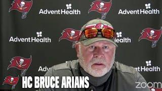 Bruce Arians on 2020 Team Captains & Signing Josh Rosen | Press Conference
