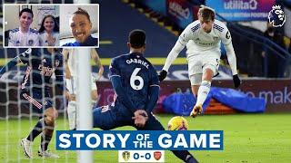 Story of the Game: Leeds United 0-0 Arsenal | Our first virtual mascot, Pepe red, the woodwork...