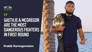 Khabib talks difference between US and Dagestan wrestling, Gaethje and Conor