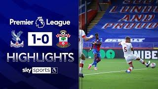 Zaha nets 50th league goal to give Palace win! | Crystal Palace 1-0 Southampton | EPL Highlights