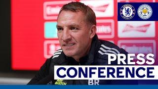 'Our Ambition Is To Win It' - Brendan Rodgers | Emirates FA Cup Final | 2020/21
