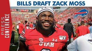 Zack Moss Gets Drafted by the Buffalo Bills!
