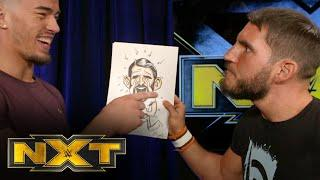 Johnny Gargano and Austin Theory receive gifts from Dexter Lumis: WWE NXT, Jan. 13, 2021