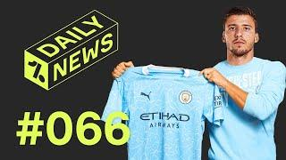 Man City have a NEW signing + Messi makes Barcelona return!  Daily News