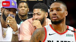 Damian Lillard SHUTS DOWN Rumor That He Is Planning To Join Lebron & AD On Lakers | Fumble Live