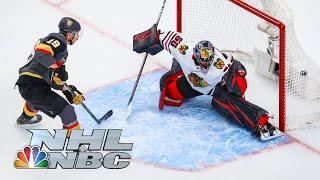NHL Stanley Cup First Round: Blackhawks vs. Golden Knights | Game 2 EXTENDED HIGHLIGHTS | NBC Sports