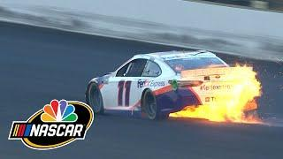 Brickyard 400: Win at Indy slips through Denny Hamlin's fingers | Motorsports at NBC