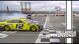 Blaney over Stenhouse in wreck-filled photo finish | NASCAR Cup Series at Talladega Superspeedway
