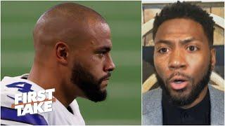 Dak Prescott's 'future with the Cowboys is in jeopardy' - Ryan Clark | First Take