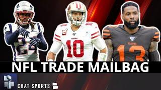 NFL Trade Rumors: OBJ To Raiders? Zach Ertz Trade? Dak To Bears? Stephon Gilmore Trade? | Mailbag