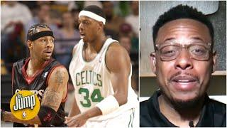 Paul Pierce describes his fear when he had to switch on Allen Iverson | The Jump