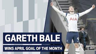 GARETH BALE WINS APRIL GOAL OF THE MONTH
