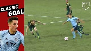 2 Defenders Left on the Ground! Goal of the Year by Krisztian Nemeth