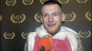 'I'LL MAKE THE LIGHTWEIGHT DIVISION SEXIER' - GARY CULLY REACTS TO HIS STUNNING 2ND ROUND KNOCKOUT