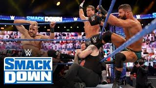 Eight-Man Tag Team Match: SmackDown, Oct. 23, 2020