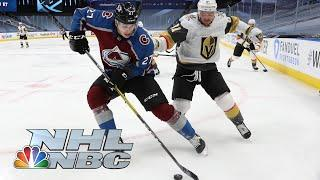 NHL Stanley Cup Round Robin: Golden Knights vs. Avalanche | EXTENDED HIGHLIGHTS | NBC Sports