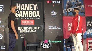 """IM THE BEST HES EVER BEEN IN WITH "" DEVIN HANEY VS YURIORKIS GAMBOA PRESS CONFERENCE"