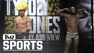 Jake Paul Put On A Show By Warning Nate Robinson To Not Let His Kids Watch The Fight | TMZ Sports