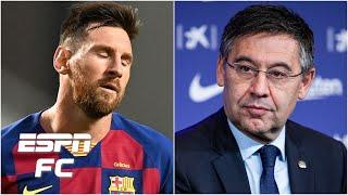 Barcelona has a choice: Lionel Messi goes or Bartomeu does - Julien Laurens | ESPN FC