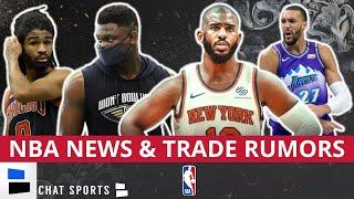 NBA Trade Rumors: Chris Paul Trades & Rudy Gobert To Chicago? + NBA News On Zion Williamson Leaving
