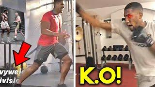 *NEW* AJ JOSHUA TRAINING FOR TYSON FURY- 2021- STRENGTH AND CONDITIONING+ *LEAKED SPARRING *