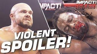 Rich Swann's EPIC Run Spoiled by Michael Elgin! | IMPACT Wrestling Best of 2019