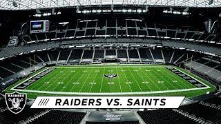 In Primetime at Allegiant Stadium, It's Finally Showtime | Raiders vs. Saints | Las Vegas Raiders
