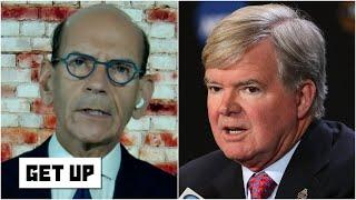 Paul Finebaum calls for NCAA president Mark Emmert to be fired | Get Up