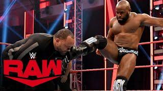 Apollo Crews vs. MVP – Money in the Bank Qualifying Match: Raw, April 20, 2020