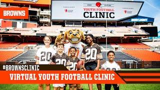 2020 Cleveland Browns Virtual Youth Football Clinic