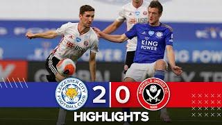Leicester City 2-0 Sheffield United | Premier League highlights | Perez helps Foxes down Blades EPL