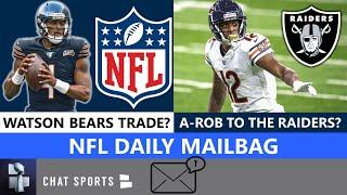 NFL Rumors: Bears Trading For Deshaun Watson? Allen Robinson To The Raiders? Chat Sports Mailbag