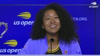 "Naomi Osaka: ""Apparently my dad went on a bike ride immediately after I won!"" 
