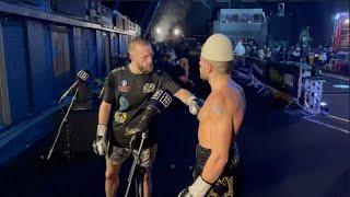 'IT WAS A DRAW, WHAT YOU THINK? ' -FURIOUS FLORIAN MARKU QUESTIONS JAMIE STEWART AFTER DRAW RESULT