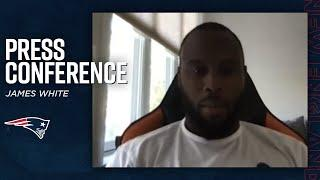 """James White: """"It's good to be back"""" 