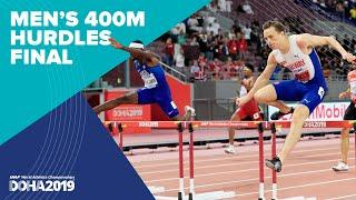 Men's 400m Hurdles Final | World Athletics Championships Doha 2019