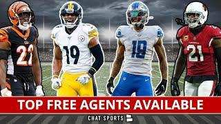 Top NFL Free Agents Available After Day 1 Of NFL Free Agency Feat. Patrick Peterson