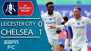 Leicester City 0-1 Chelsea: Ross Barkley powers Frank Lampard into the semis | FA Cup Highlights