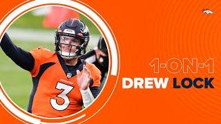 Drew Lock recaps his 2020 season: 'I think a good word for the season is just growth'