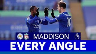 EVERY ANGLE | James Maddison vs. Liverpool | 2020/21