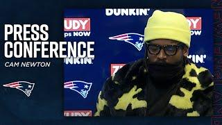 """Cam Newton Postgame Press Conference: """"I'm trying to be the best player for this team""""  
