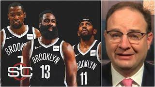 Woj on James Harden trade: The Nets wanted to find a third star for Kevin Durant & Kyrie Irving | SC