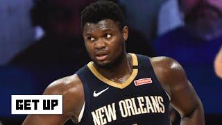 Kendrick Perkins and Zach Lowe on Zion Williamson saying he needs to work on his body | Get Up