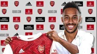 OFFICIAL: Pierre-Emerick Aubameyang Signs New Contract With Arsenal!