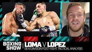 """It wasn't just size"" Ben Davison on why Teofimo Lopez shocked Vasyl Lomachenko in stunning win"