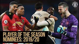 Player of the Season Nominees 2019/20 | Manchester United